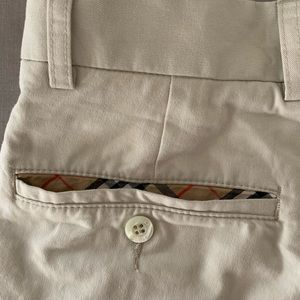 Burberry Khaki Pants